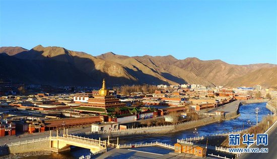 Labrang Monastery repairs 10 temple halls in four years