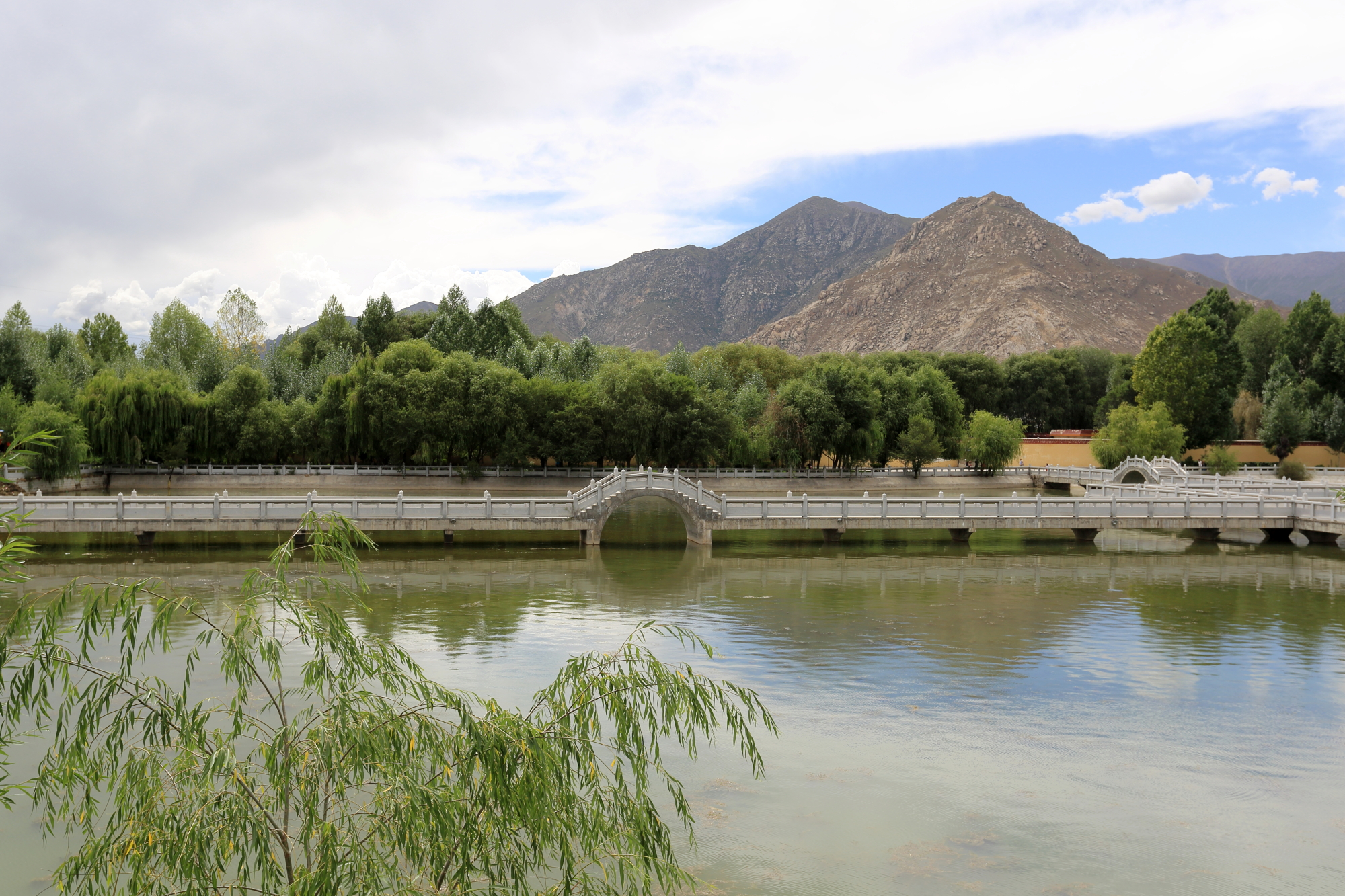 Summer scenery of Lhasa