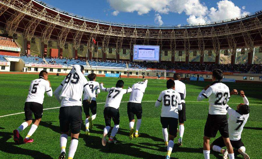 Erneuter Auftritt des Fußballs in Tibet
