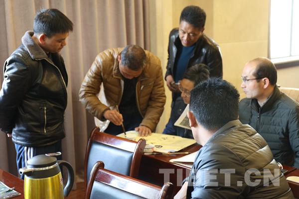 Tibet veranstaltet Seminar für Kalligraphie-Lehrer