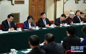刘云山参加内蒙古代表团审议