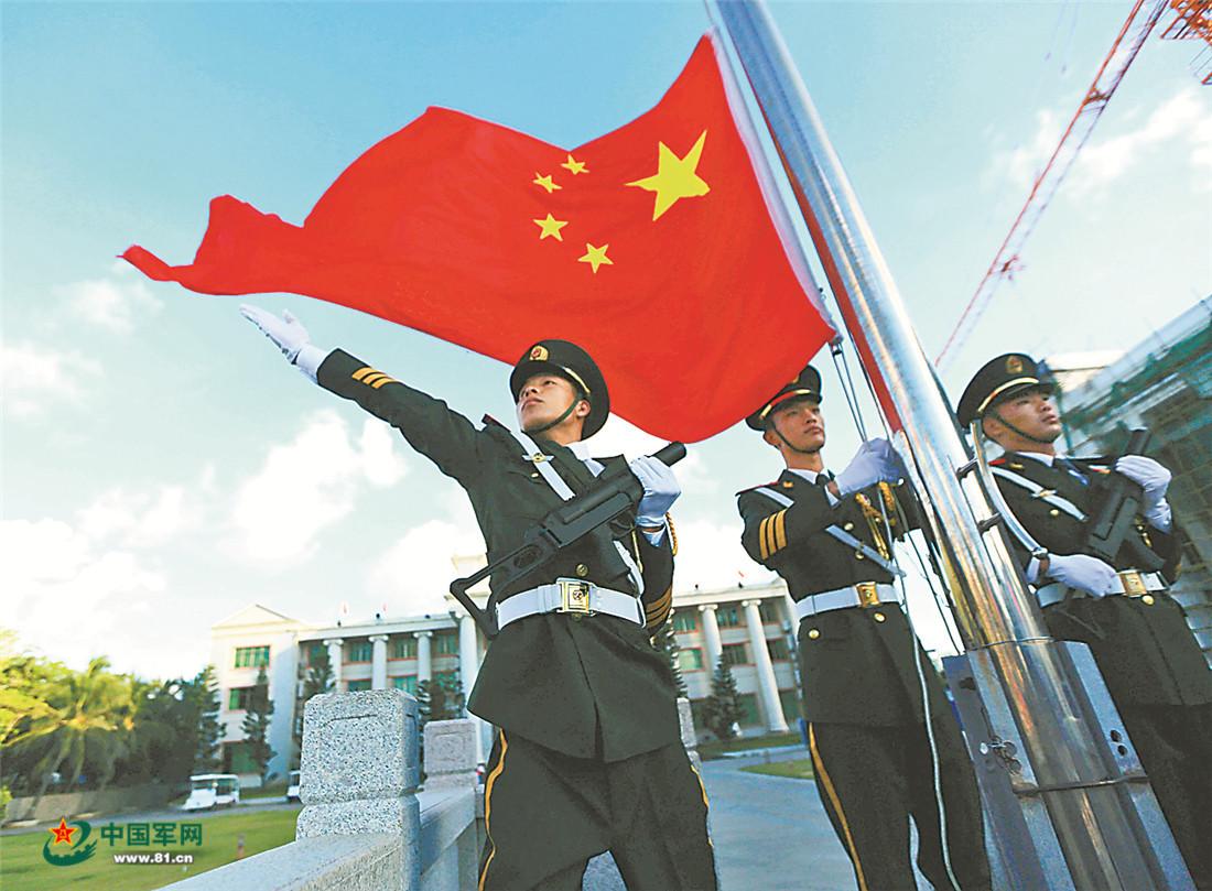 守卫三沙,他们是中国武警