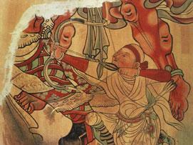 Schutz antiker buddhistischer Kunst dank moderner Technik