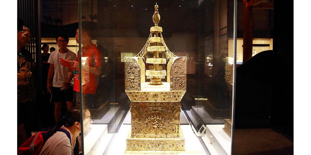 近二十年发现的文物珍品在京展出