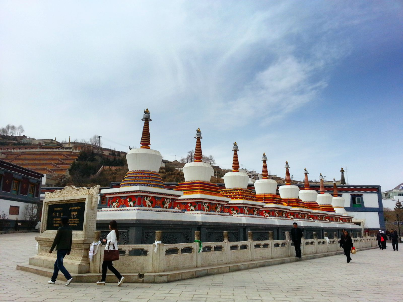 Qinghai: Bau eines Museumskomplexes beim Kumbum-Kloster