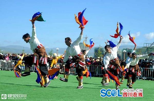 Gorchom-Tanzwettbewerb in Ngawa eröffnet