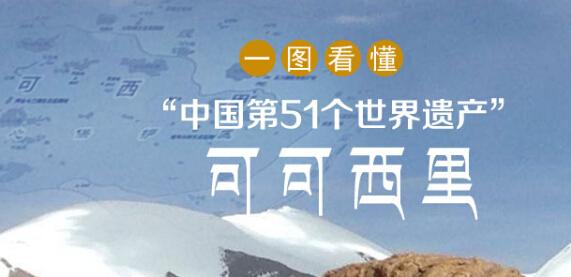"""一图看懂""""中国第51个世界遗产""""可可西里"""