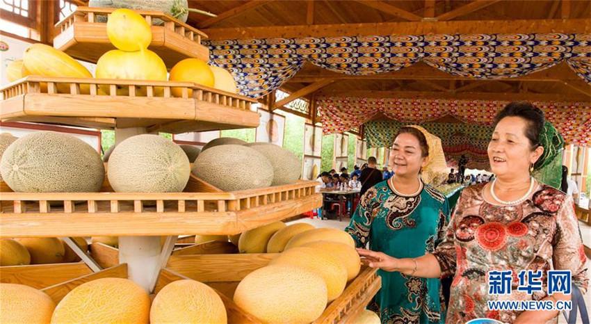 Hami-Melonen-Festival in Xinjiang