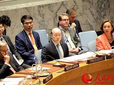 China für bessere Friedens- und Sicherheitskapazitäten in Afrika