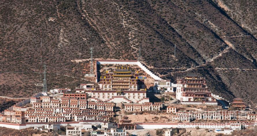 Das berühmte Kham-Kloster Sangpiling