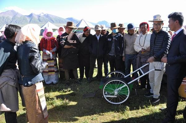 New innovation improves the lives of Tibetan nomads