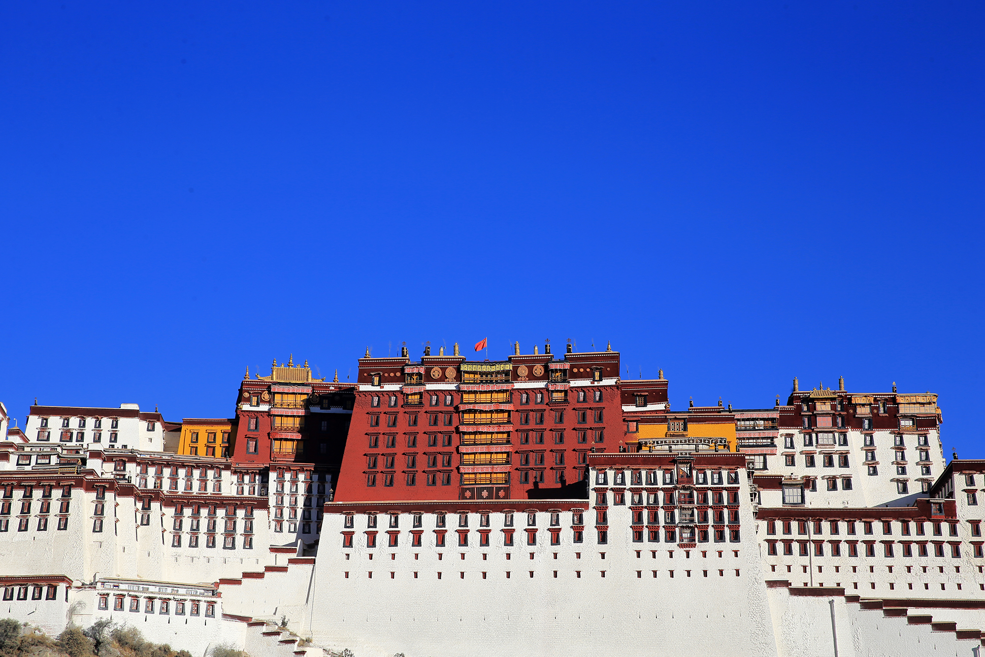 Potala Palace in early morning