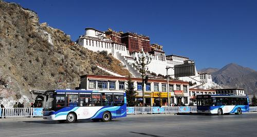 Auto market prospers in Lhasa