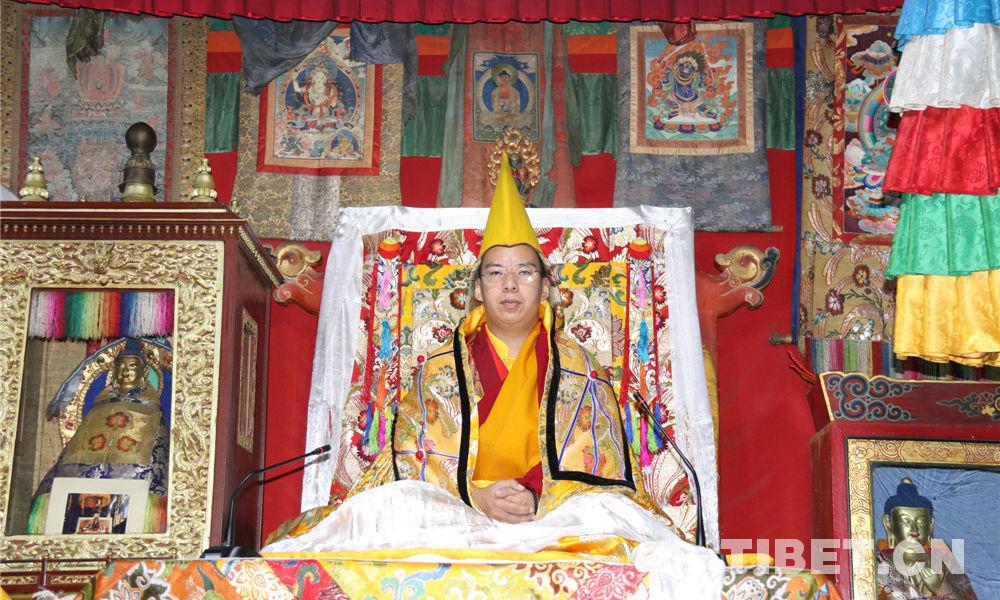 11. Penchen Lama führt in Qinghai buddhistische Veranstaltungen durch
