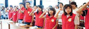 Studentische Freiwillige besuchen Tibet