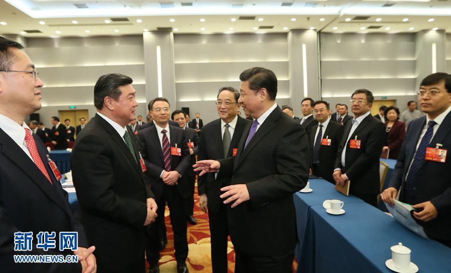 春晖万里 党的领导人与全国统战工作会议纪事