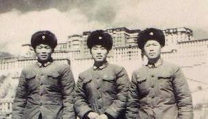 第一代高原雷达兵 战士站岗被冻僵雪埋