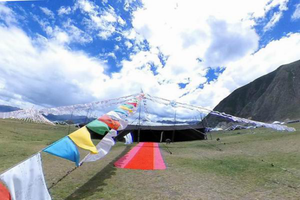 VR图片|世界最大的牦牛黑帐篷