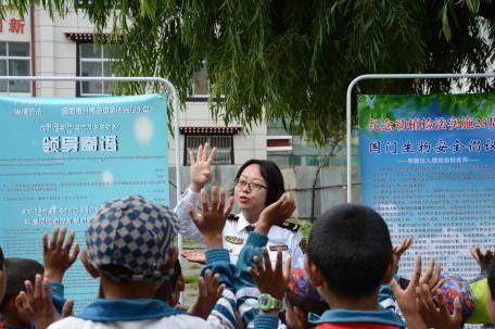 Tibet bekommt erste Bioschutz-Unterrichtsbasis