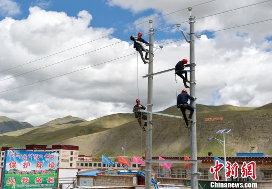 Stromversorger auf dem Dach der Welt