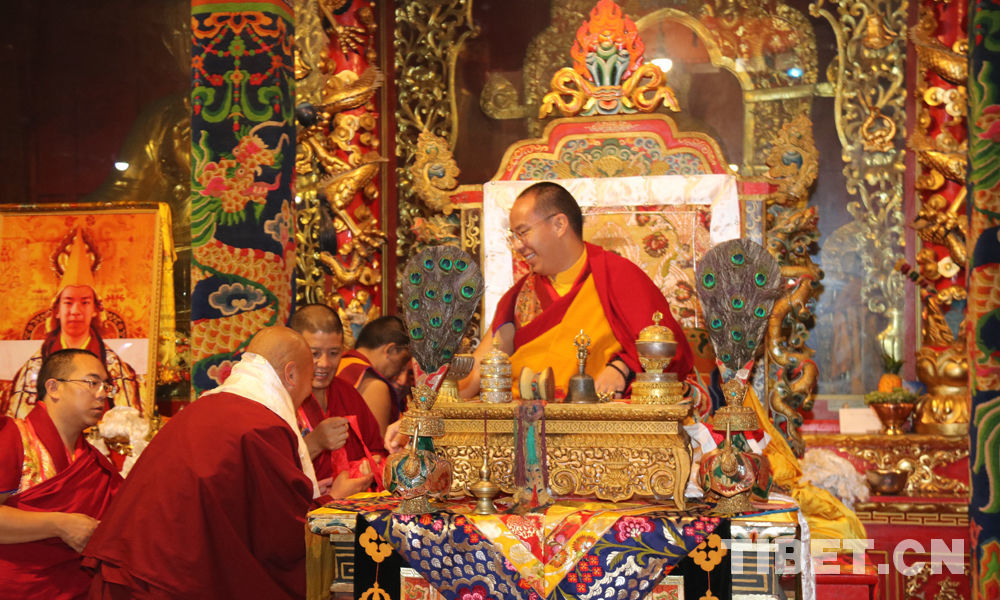 11th Panchen Lama holds Buddhist activities in Qinghai