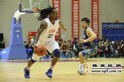 Chinesisch-Amerikanischer Basketballwettbewerb fand in Dêqên statt