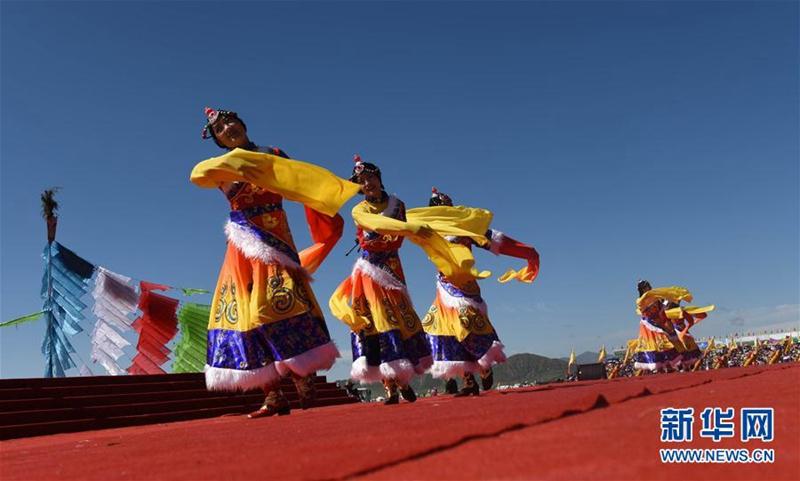 11. Gesar Pferderennen Festival in Maqu eröffnet
