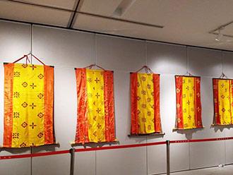 2017雅砻文化节民族手工艺展布展工作有序开展