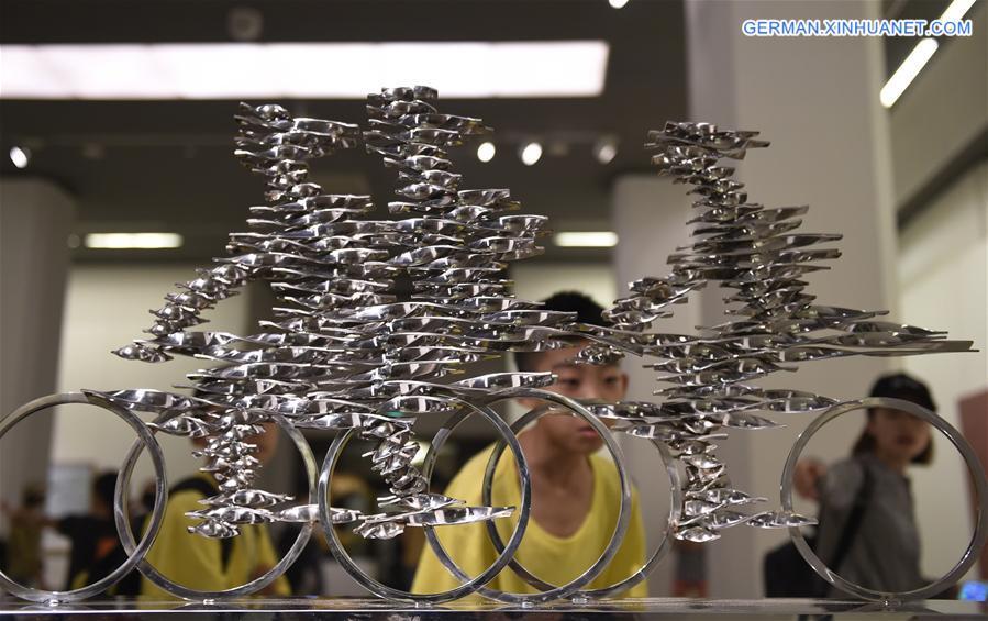 Ausstellungen der jungen Künstler in Beijing