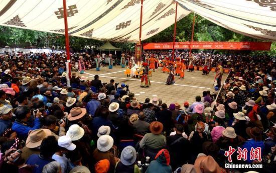 Shoton-Festival in Lhasa eröffnet