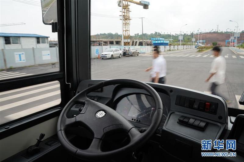 CRRC testet seinen ersten intelligenten 12-Meter Elektrobus