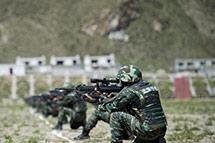 """武警西藏总队开展""""雪域勇士2017""""比武竞赛"""