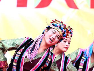 2017中国西藏雅砻文化节开幕式山南文艺演出