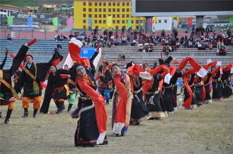 Yushu: Volkstanz zeigt einzigartige tibetische Kultur