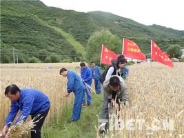 西藏加查县拉绥乡提升企地共建协同发展水平