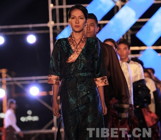 First Tibetan model competition ends