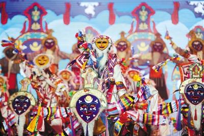 中国拉萨雪顿节开幕式现场