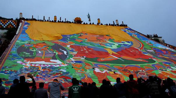 Das Jogurt-Fest in der alten Stadt Lhasa