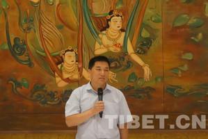 """中国和平统一促进会主办 """"海内外华文媒体甘肃藏区行""""启动"""