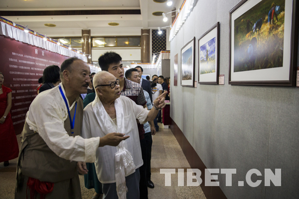 10. Tibet-Mt. Qomolangma-Fotoausstellung eröffnet in Peking