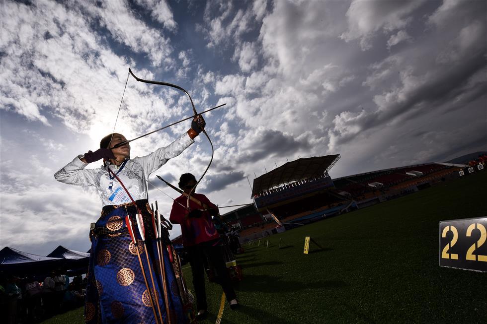 Qinghai: Internationaler Bogenschießenwettbewerb naht