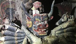 四川石渠现明代壁画与雕塑
