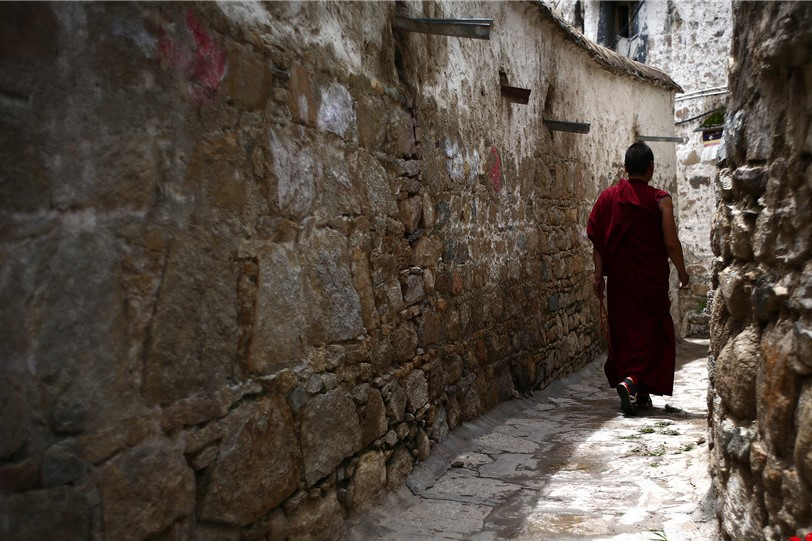 Das Drepung-Kloster nach der Buddha-Ausstellung