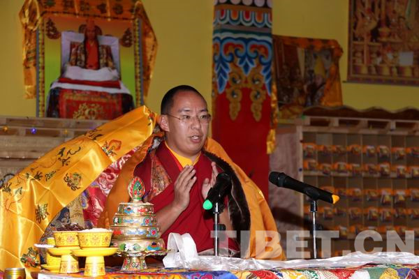 11th Panchen Lama consecrates world's largest Tsongkhapa statue