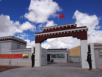 西藏安多县新建10座保护站守护羌塘草原野生动物