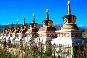 """""""高原秘境""""里的藏传佛教寺院"""
