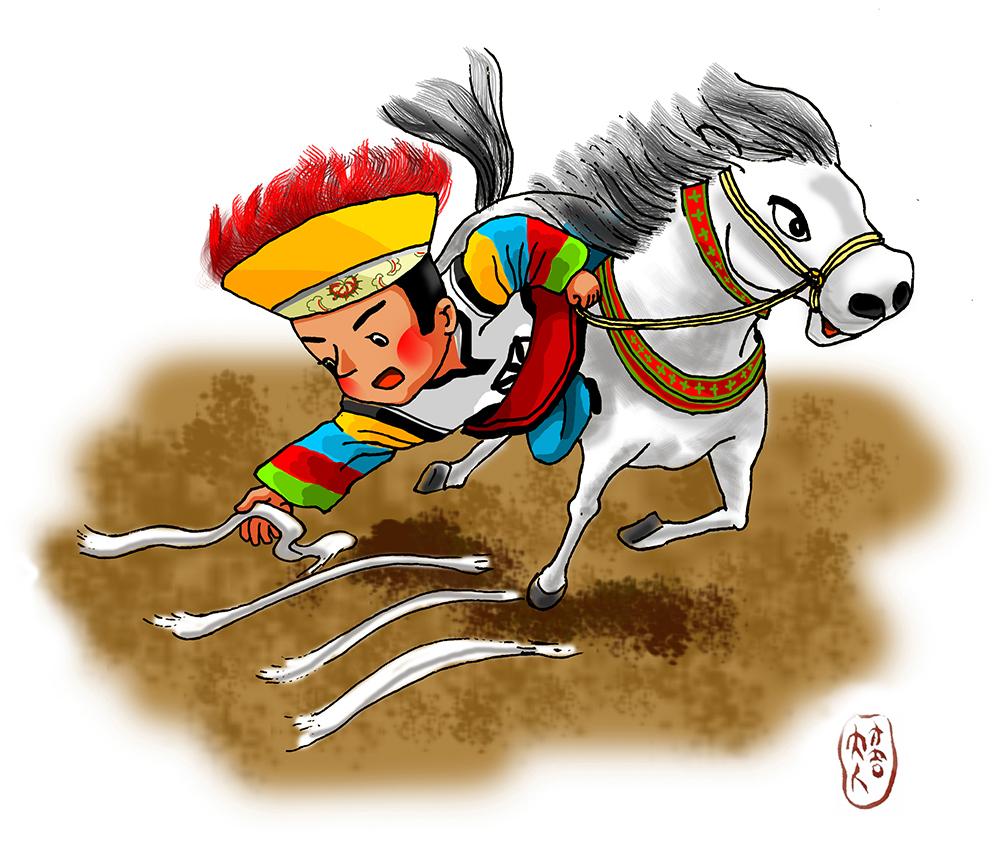 Pferderennevent in Nordtibet bald eröffnet