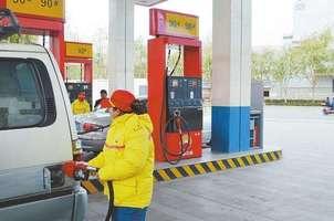 拉萨92号汽油每公升涨了一毛四