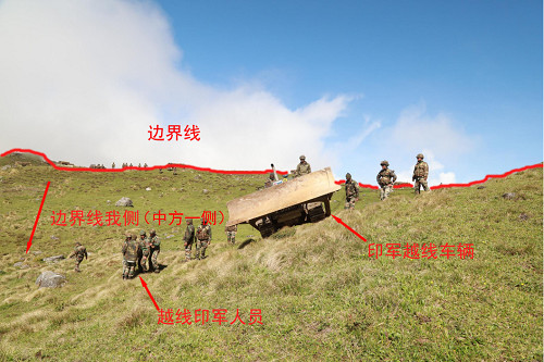 Truths about Indian troops' illegal entry into Chinese territory