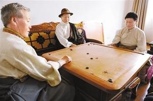西藏传统体育 深受欢迎